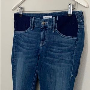 Good American Jeans - Good American maternity cropped jeans